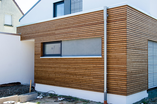 Holzverkleidung Fassade Holzverkleidung Fassade Arten Haus ...